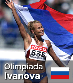 Olimpiada Ivanova - World Record holder for the 20k Walk