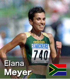 Elana Meyer - 3rd fastest Half Marathon in history