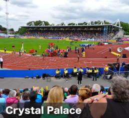 Crystal Palace stadium in London