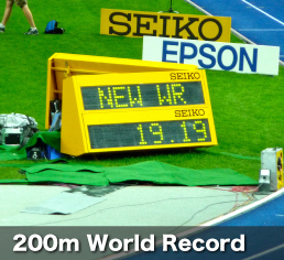 Usain Bolt sets new 200m World Record in Berlin