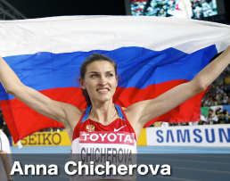 Anna Chicherova could challenge High Jump World Record in 2012
