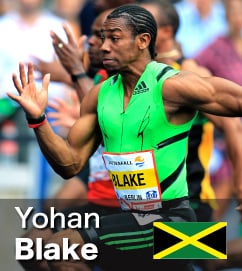 Fastest over 200m in 2011 - Yohan Blake