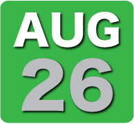 Sunday 26 August 2012