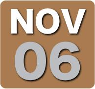 Sunday 6 November 2011