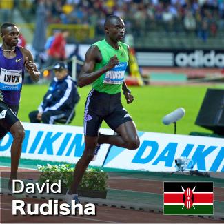 David Rudisha - 800m