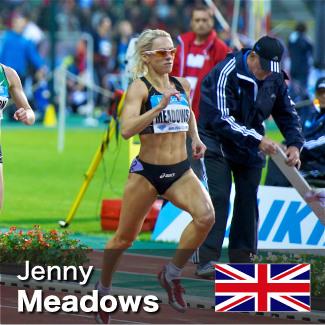 Jenny Meadows - 800m