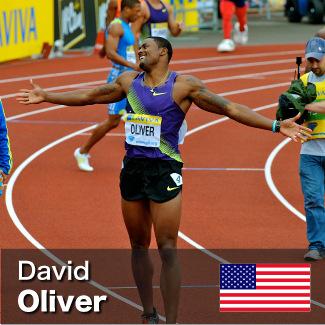 David Oliver - 110m Hurdles