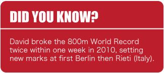 Did You Know - David Rudisha