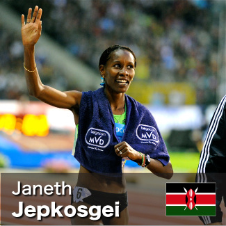 Janeth Jepkosgei - 800m