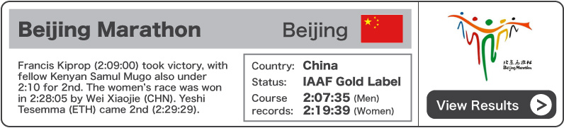 2011 Beijing Marathon - Results