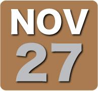 Sunday 27 November 2011