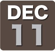 Sunday 11 December 2011