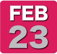 Thursday 23 February 2012