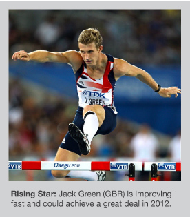Jack Green has a bright future in the 400m Hurdles