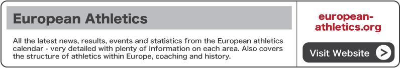 Visit European Athletics website