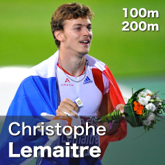 France - Christophe Lemaitre
