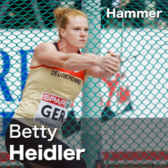 Germany - Betty Heidler