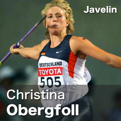 Germany - Christina Obergfoll