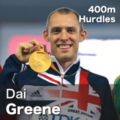 Great Britain - Dai Greene