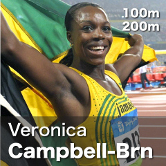 Jamaica - Veronica Campbell-Brown