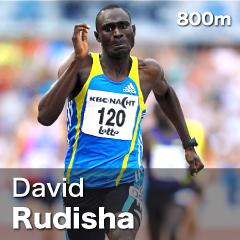 Kenya - David Rudisha