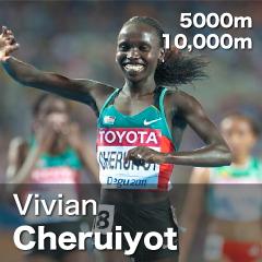 Kenya - Vivian Cheruiyot