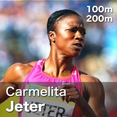 USA - Carmelita Jeter