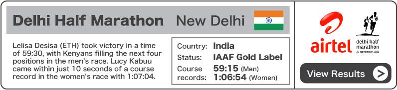 2011 Airtel Delhi Half Marathon - Results