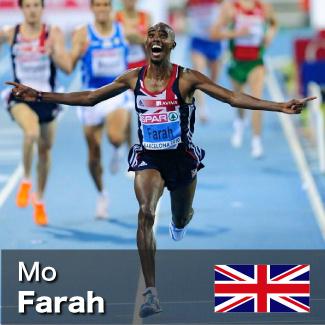 Mo Farah - 5000m and 10000m