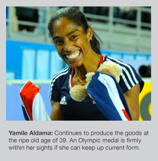 Yamile Aldama is World Indoor Champion