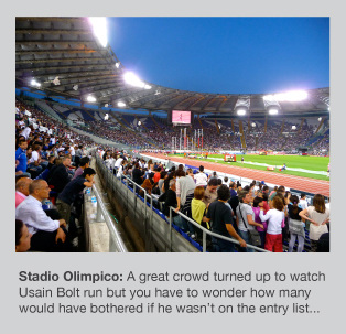 Stadio Olimpico is an awesome venue