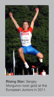 Sergey Morgunov now holds the World junior record