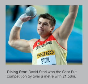 David Storl is the new European Champion