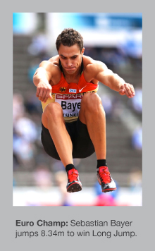 Sebastian Bayer is the European champion