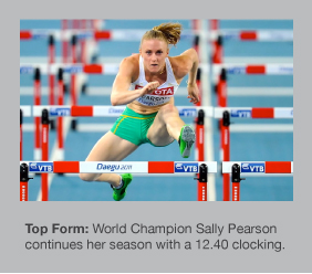 Sally Pearson looks unbeatable in 2012