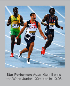 Adam Gemili wins 100m gold in Barcelona