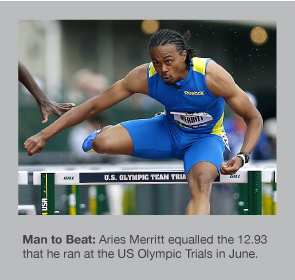 Aries Merritt runs 12.93 once again