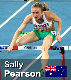 Sally Pearson was 2011 World Champion