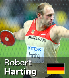 Robert Harting was over 70m in 2012