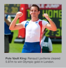 Renaud Lavillenie wins Pole Vault gold