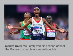 Mo Farah wins Olympic gold over 5000m