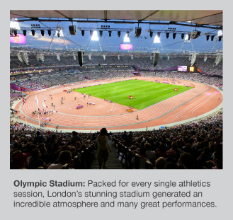 The magnificent London Olympic Stadium