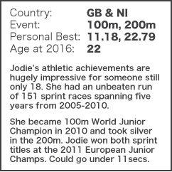 Brit to Watch - Jodie Williams NEW