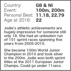 Brit to Watch - Jodie Williams NEW