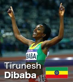 Olympic Champion - Tirunesh Dibaba