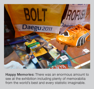 Memorabilia galore