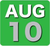 Saturday 10 August 2013