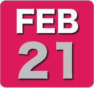 Thursday 21 February 2013