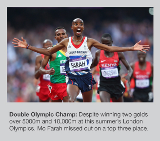 Mo Farah was one of the stars of London 2012