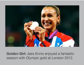Jess Ennis is the new Olympic Heptathlon champion